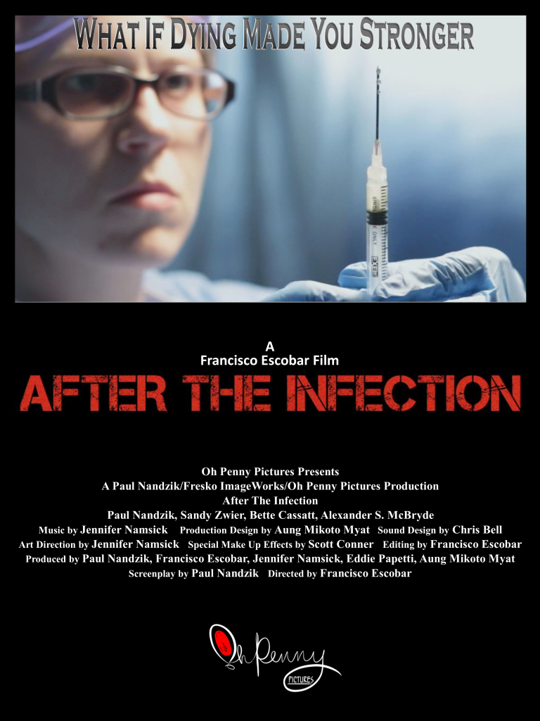 Official After the Infection Poster